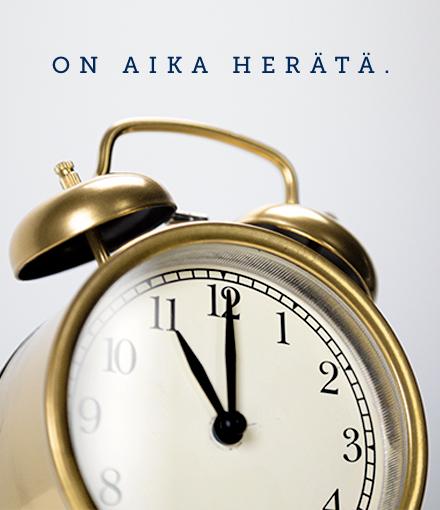 Herätyskello soi tärkeän asian puolesta tauotta koko syyskuun Helsingin keskustassa